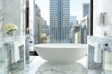 The Infinity Suite bath  at The Langham Chicago