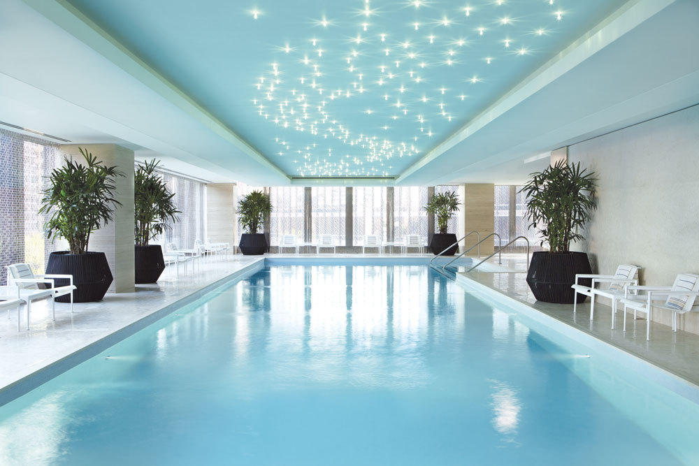 Indoor Pool  at The Langham Chicago