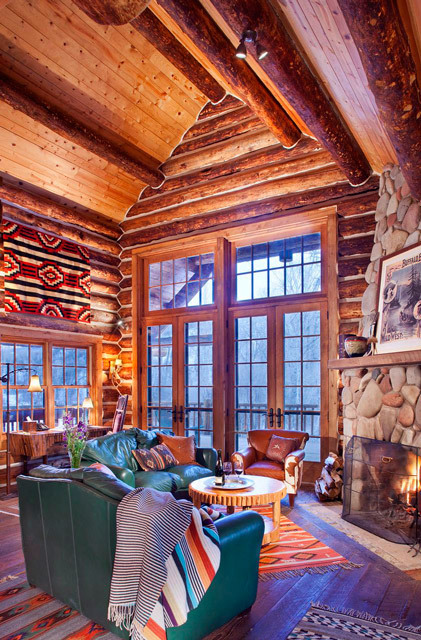 Smith Fork Ranch River Cabin interior