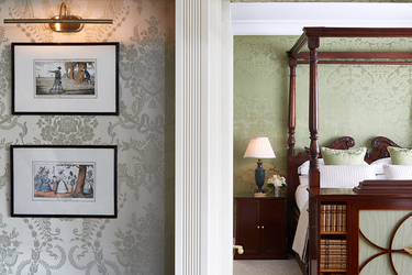 Royal Suite master bedroom at The Goring in London, England