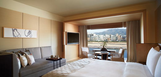 kyoto ritz carlton luxury king bedroom