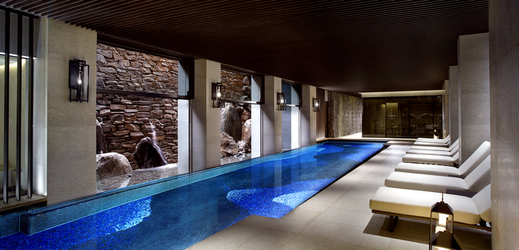 kyoto ritz carlton spa pool