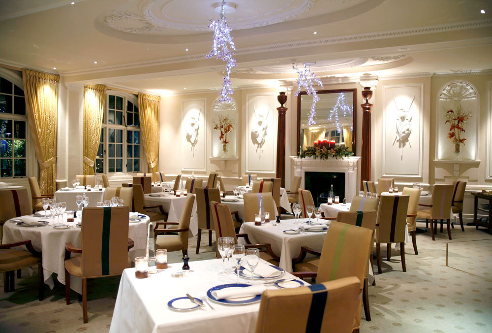 The Dining Room At Goring In London England