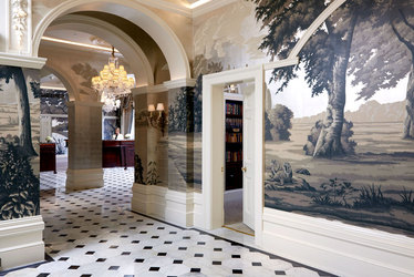 The Front Hall at The Goring in London, England