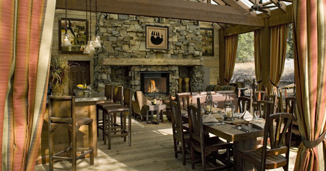 Paws Up Montana Dining Room
