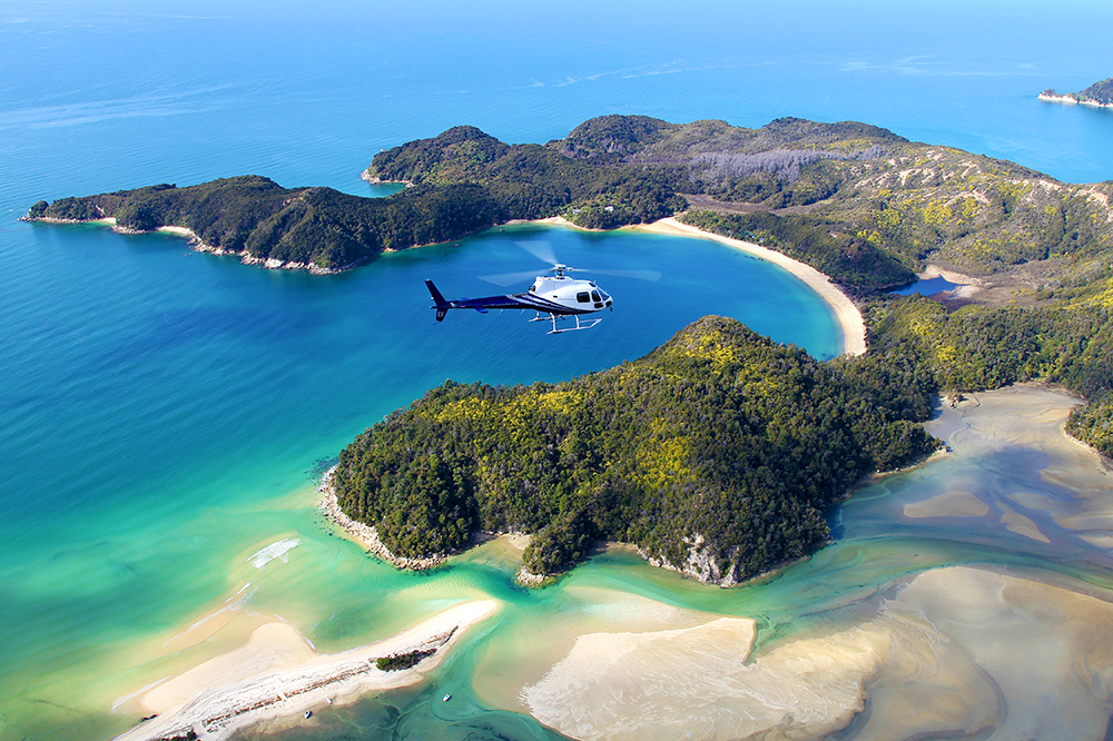 Helicopter tour over Kahurangi National Park from Edenhouse