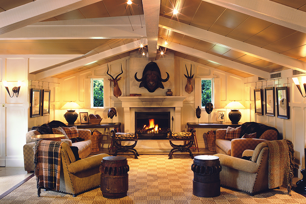 The Trophy Room at Huka Lodge in Taupo, New Zealand