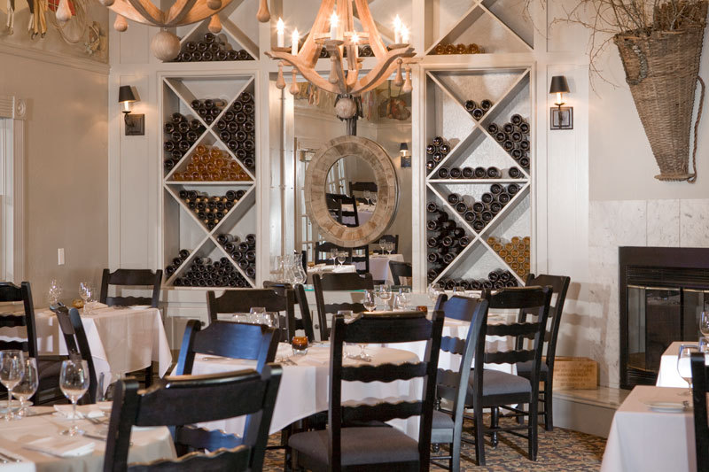 Farmhouse Inn dining room
