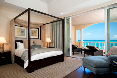 The Estate bedroom at Grace Bay Club