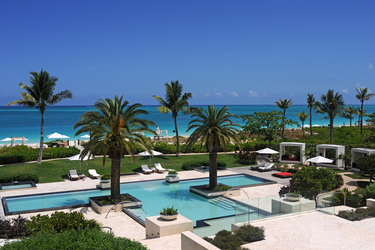 The Estate pool at Grace Bay Club