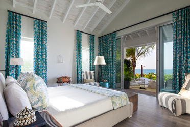 The Residences bedroom at Grace Bay Club