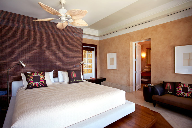 Falcon's Nest Bedroom at Peter Island Resort