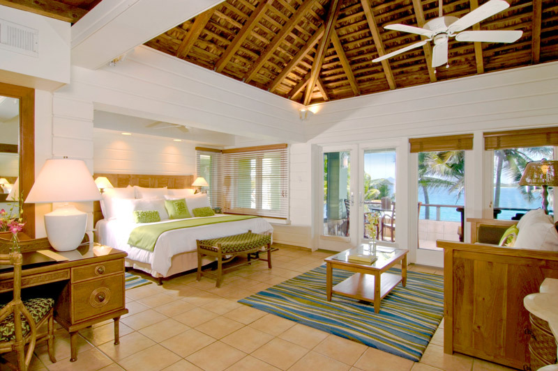 Peter Island Beachfront Junior Suite interior