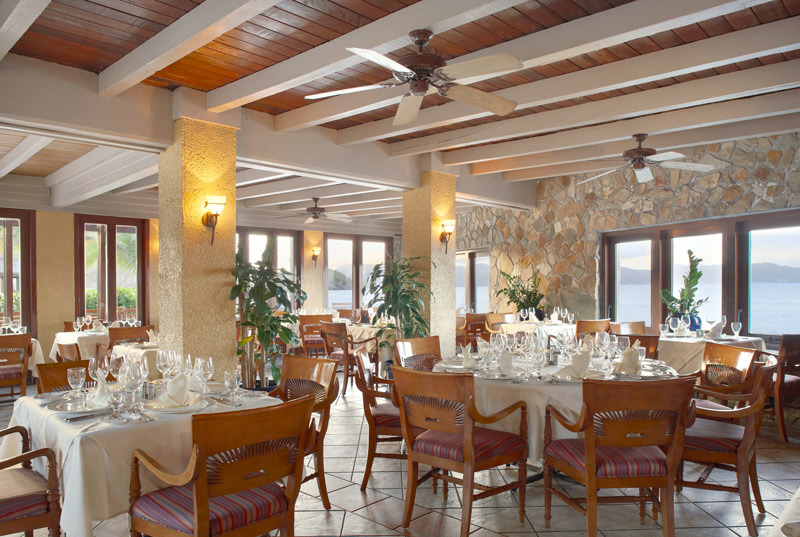 Peter Island Tradewinds Restaurant