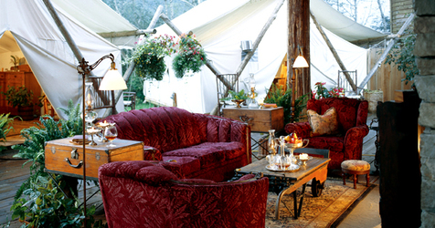 Bistro Tent at Clayoquot