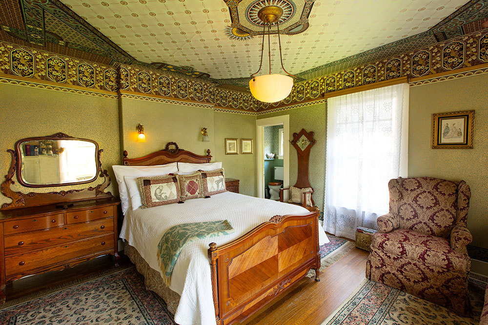 The Margaret Simpson Room in the Manor House at Simpson House Inn in Santa Barbara, California