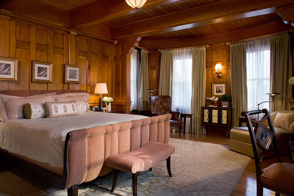 Master Bedroom at Castle Hill Inn in Newport, Rhode Island
