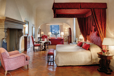 The Michelangelo Suite at the Belmond Villa San Michele in Florence, Italy