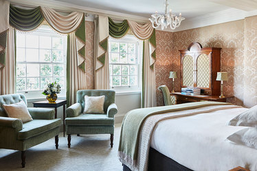 The Most Splendid Garden Room at The Goring Hotel in London, England