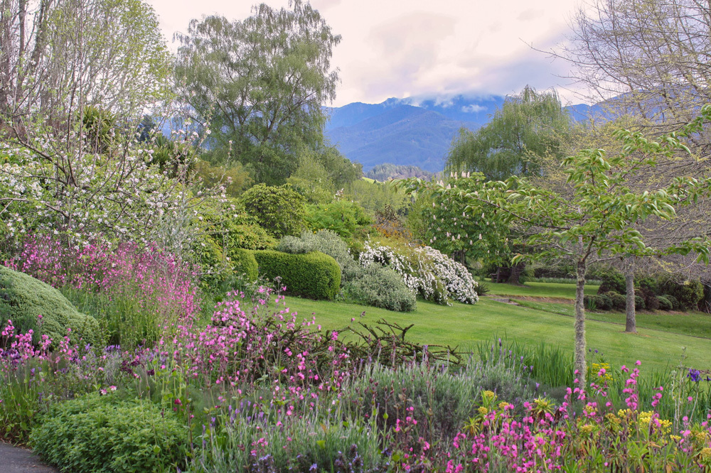 The Mountain View at The Edenhouse in Nelson, New Zealand
