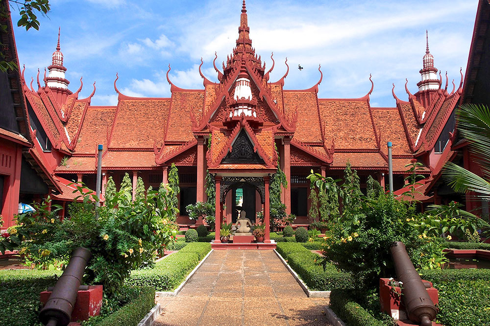 The National Museum of Cambodia in Phnom Penh, Cambodia