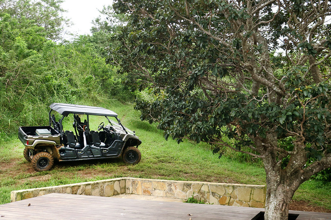 Each guest has access to a personal ATV at Nekupe in Nandaime, Nicaragua