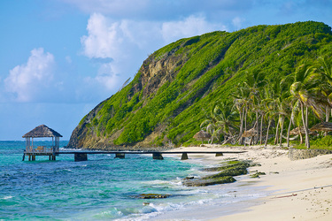 The Ocean at Petit St. Vincent on Petit St. Vincent Private Island, Saint Vincent and the Grenadines