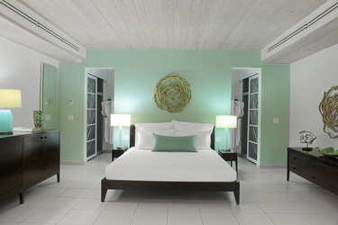 The Ocean Suite Bedroom at Carlise Bay in Caribbean, Antigua