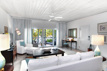 The Ocean Suite Livingroom at Carlise Bay in Caribbean, Antigua