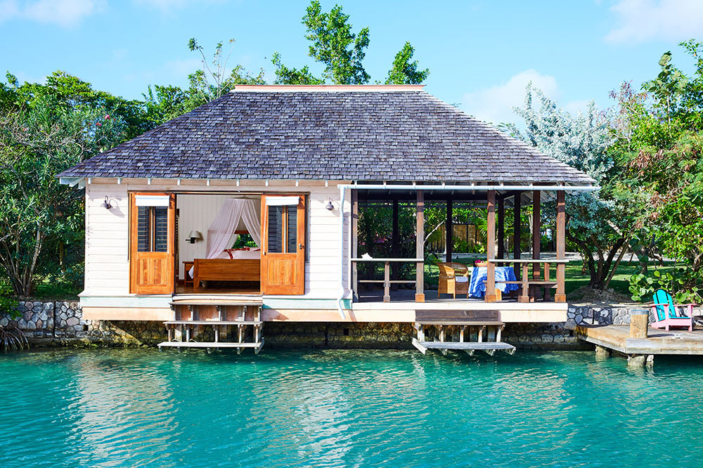 A Lagoon Cottage at GoldenEye in Oracabessa, Jamaica