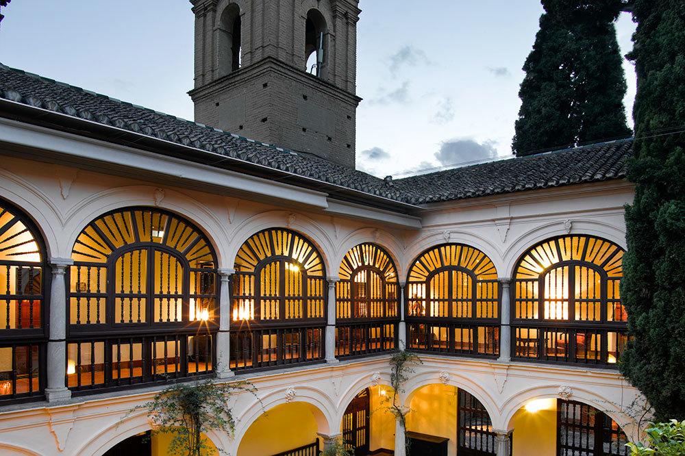 Parador De Granada Granada Mission Style Inn Hideaway