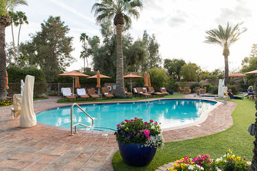 The pool at Hermosa Inn in Paradise Valley, Arizona