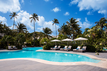 The Pool at Carlisle Bay in Antigua, Caribbean