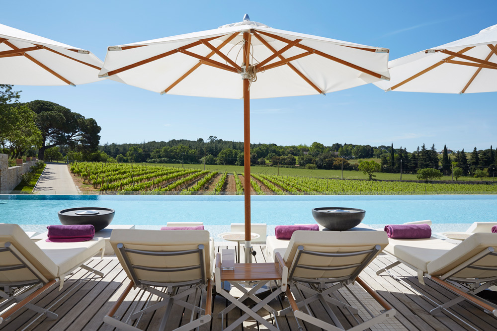 The Pool View at Domaine De Verchant in Languedoc-Roussillon, France