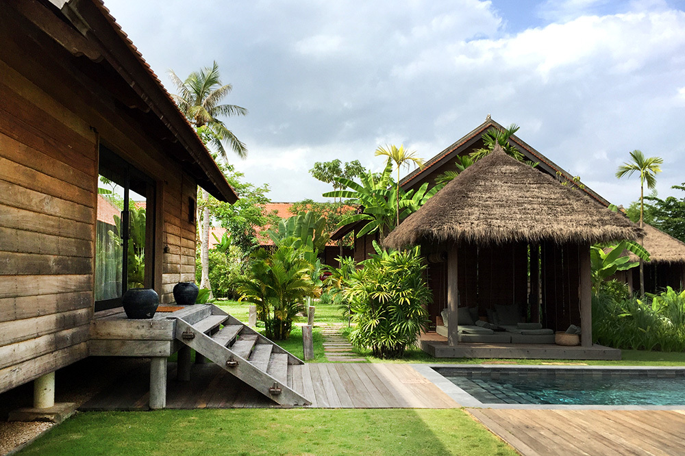 A Pool Villa at Phum Baitang in Siem Reap, Cambodia