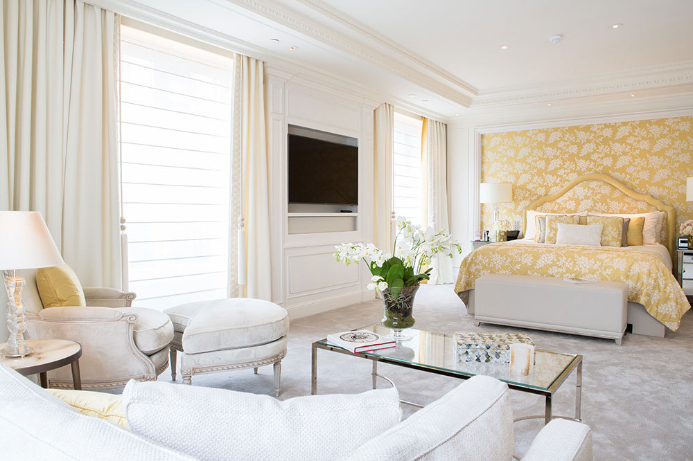 The Presidential suite at Four Seasons Hotel George V Paris