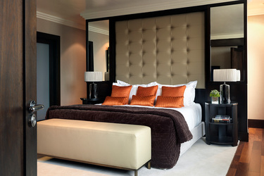 The Presidential room at The Westbury in Dublin, Ireland