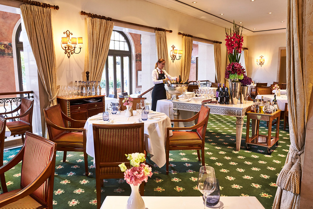 The Quarre Restaurant at Hotel Adlon Kempinski in Berlin, Germany