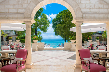 Reception at Sandy Lane in Barbados