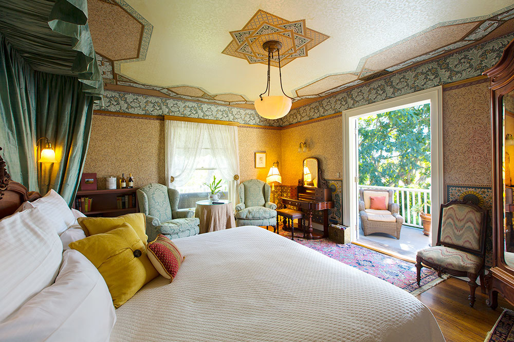 The Robert and Julia Simpson Room at the Manor House at Simpson House Inn in Santa Barbara, California