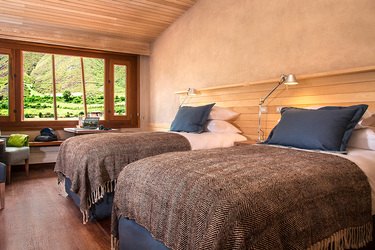 The Standard Twin Room at explora Valle Sagrado in Sacred Valley, Peru