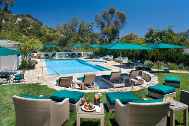 The pool at San Ysidro Ranch in Santa Barbara, California