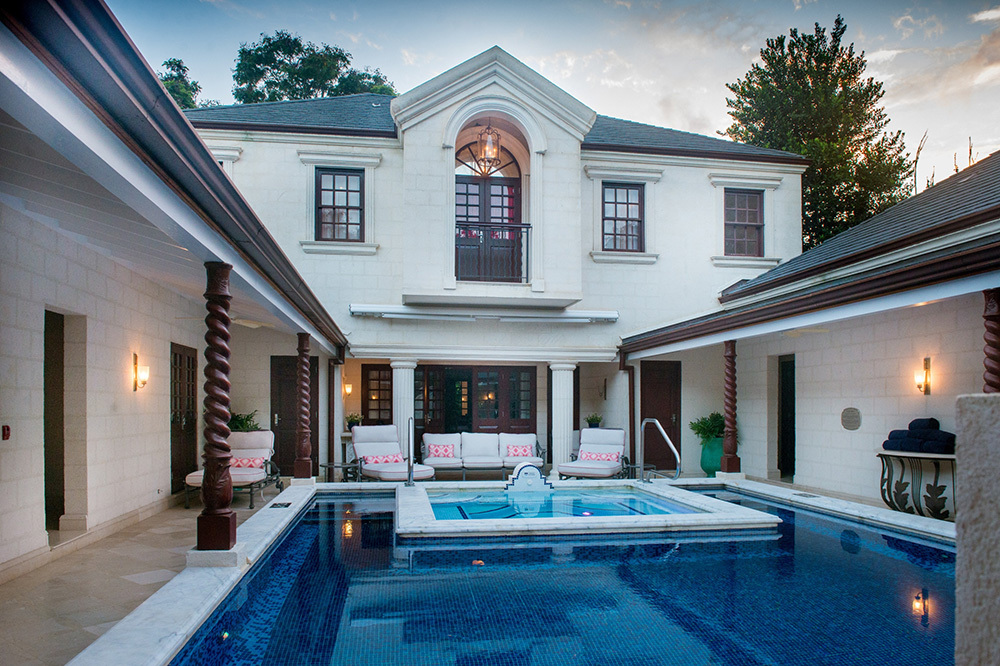 The Villa at Sandy Lane in Barbados