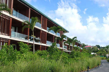 Exterior of Silversands in Grand Anse Beach, Grenada
