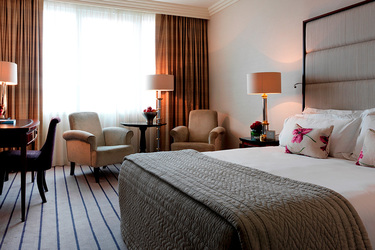 The Superior King room at The Westbury in Dublin, Ireland