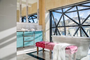 The bath of the Superior Suite at The Silo in Cape Town, South Africa