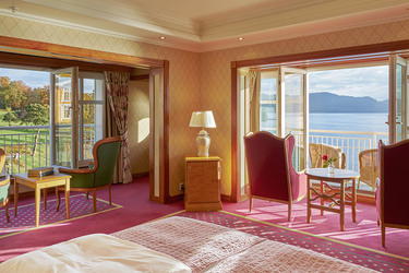 Solstrand Hotel Deluxe Room view