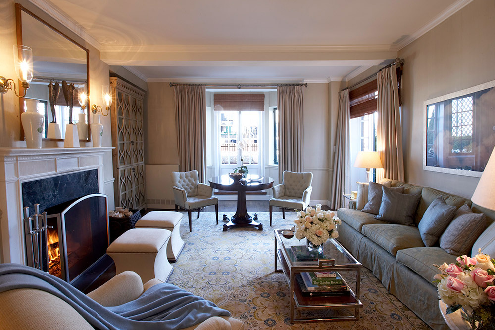 Living room of a Specialty Suite at The Lowell in Manhattan borough, New York City, New York