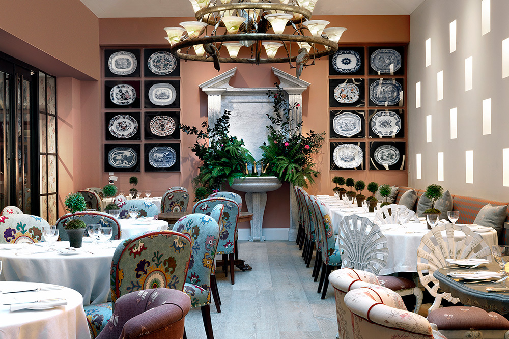 The Orangery restaurant at The Whitby in New York, New York