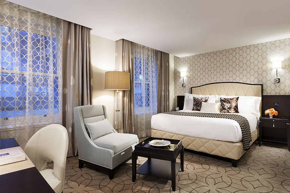 The Superior Room at The Rosewood Hotel Georgia in Vancouver, Canada